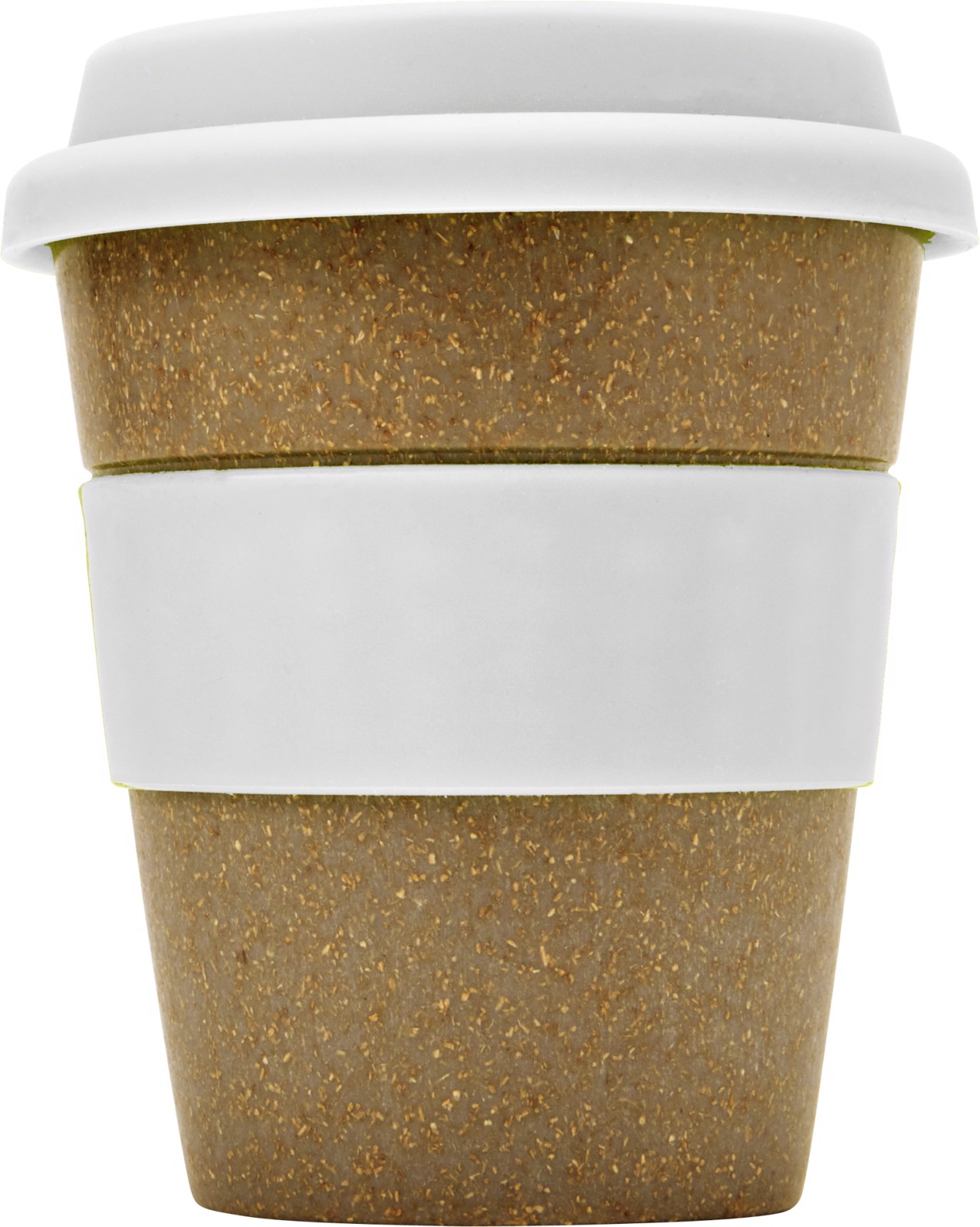 Bamboo cup - White