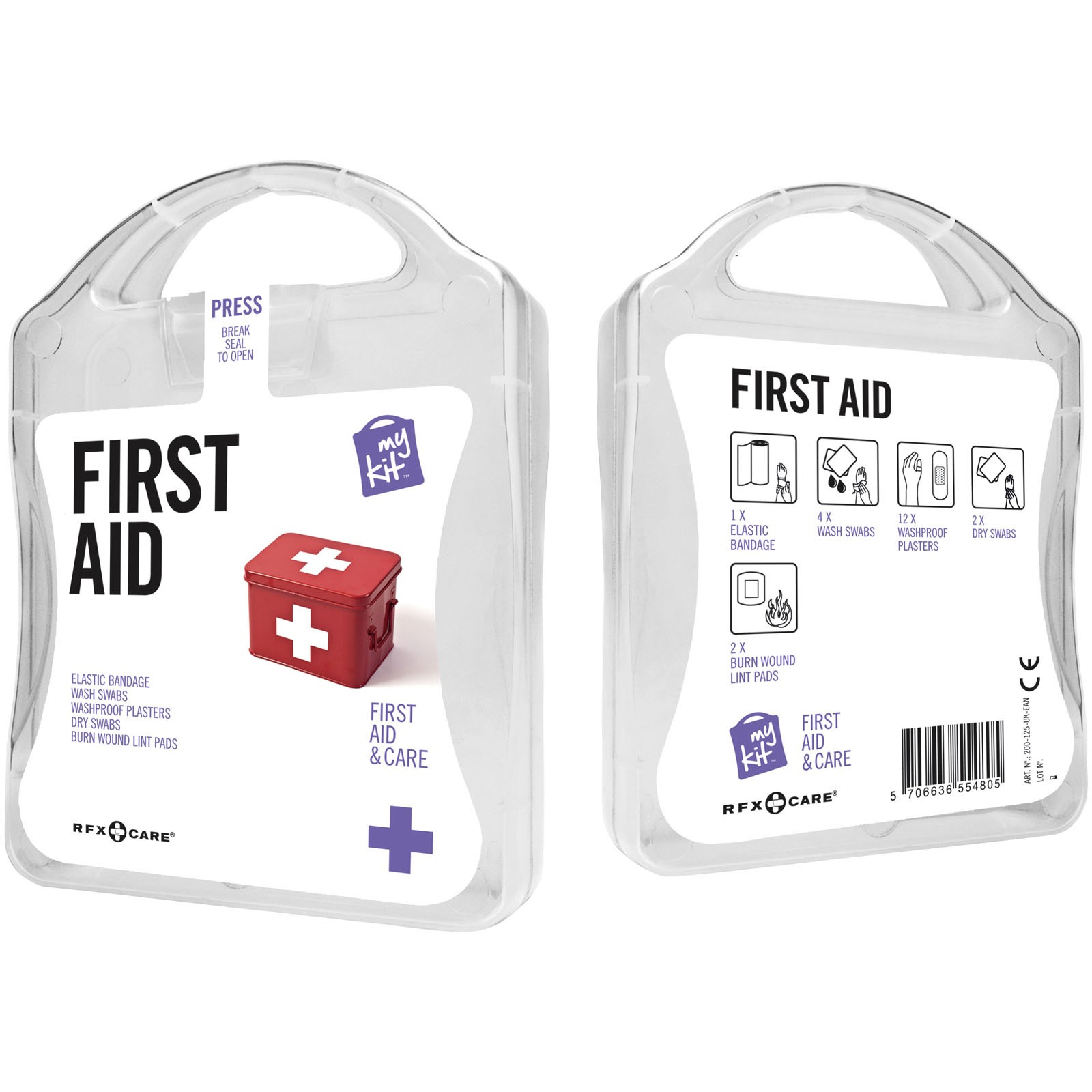 MyKit First Aid - White