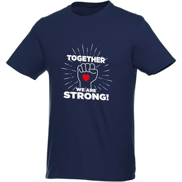 Heros short sleeve men's t-shirt - Navy / XXL