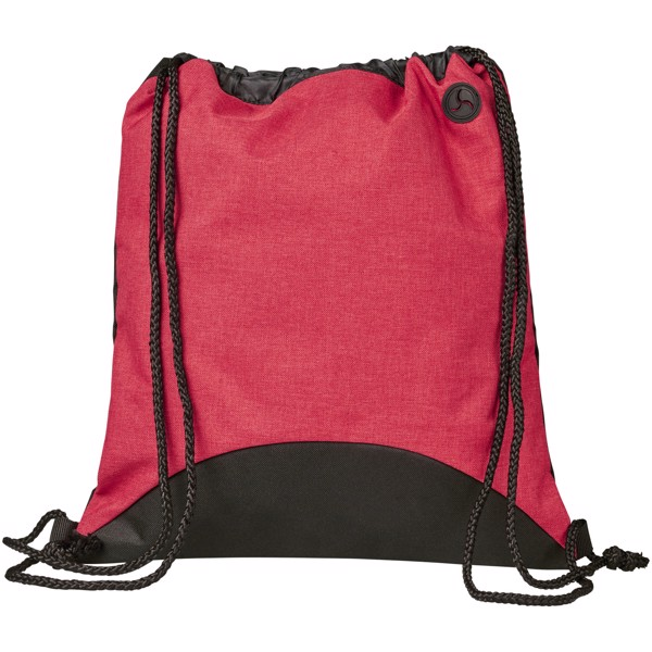 Street drawstring backpack - Red