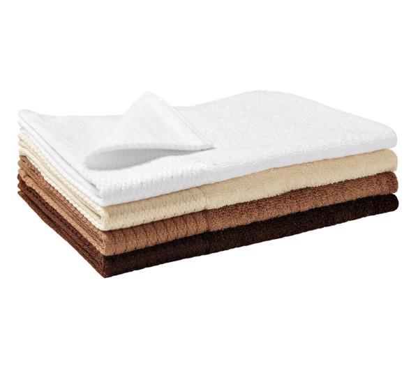 Malý ručník unisex Malfinipremium Bamboo Golf Towel - Bílá / 30 x 50 cm