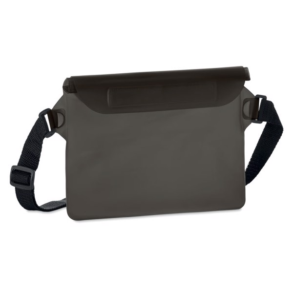 Waterproof waist bag Waistphone - Transparent Grey