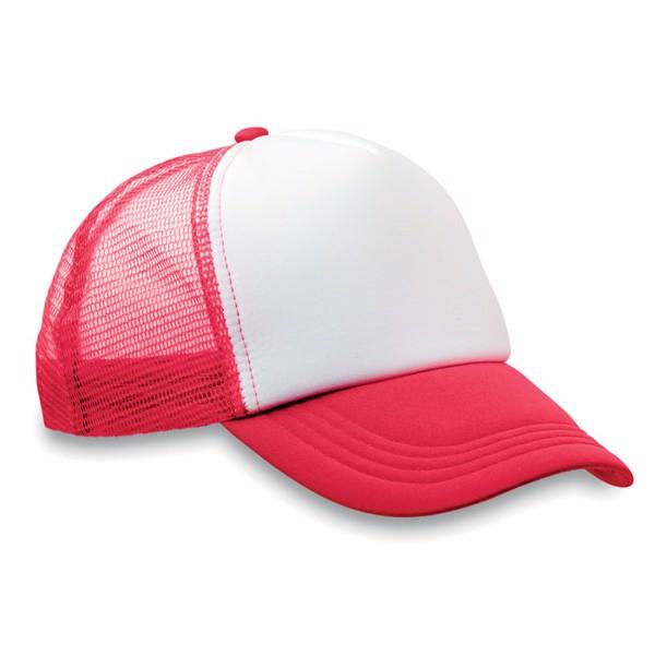 Czapka -bejsbolówka Trucker Cap - czerwony