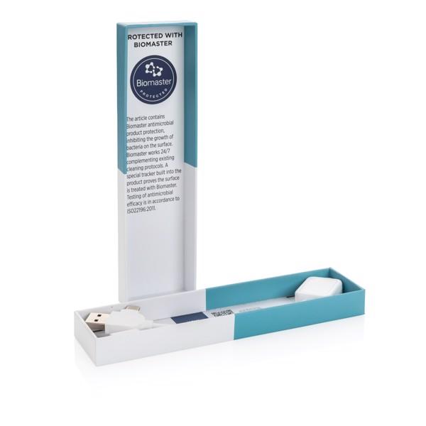 Nabíjecí kabel 6 v 1 s antimikrobiální ochranou