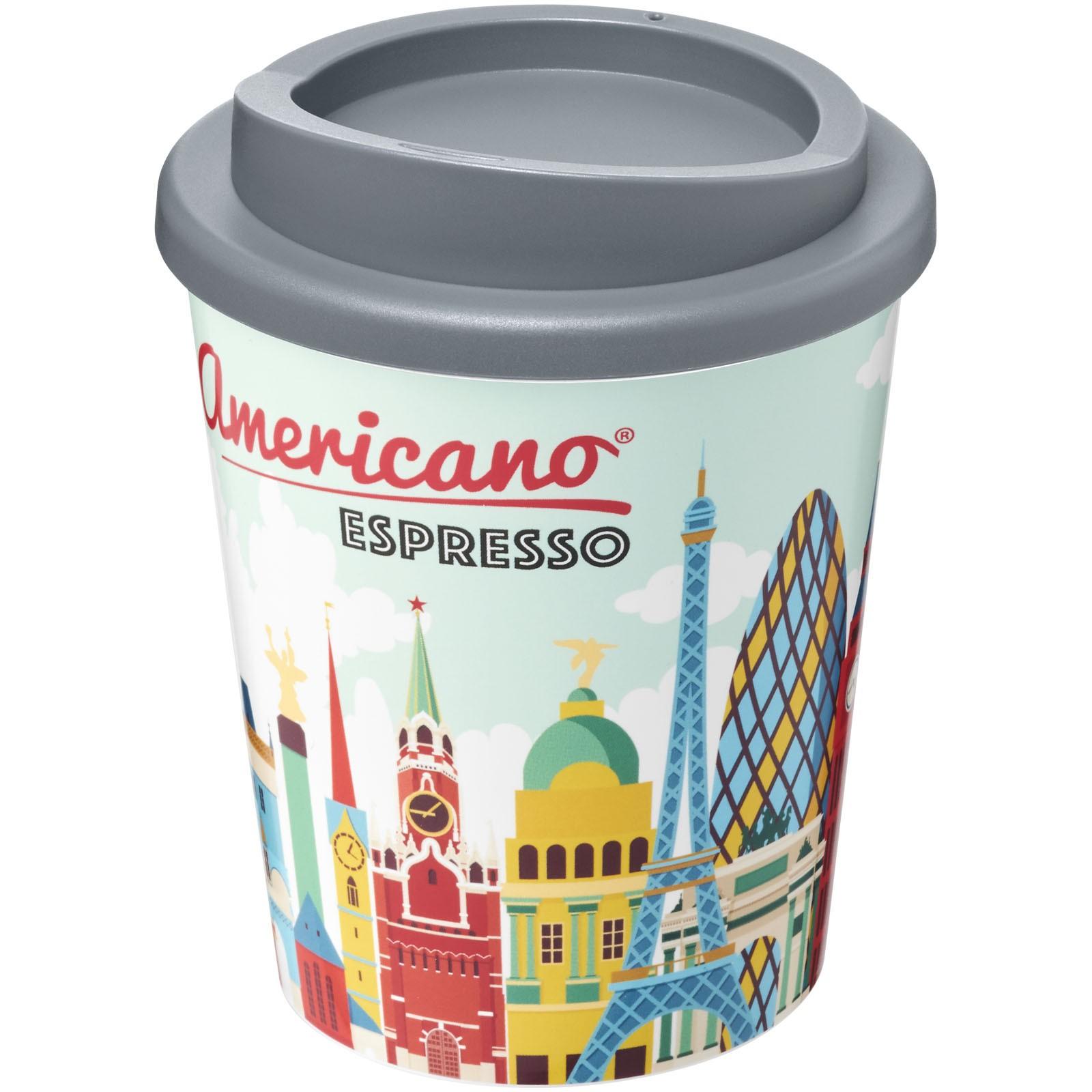 Termo hrnek Brite-Americano® espresso 250 ml - Šedá