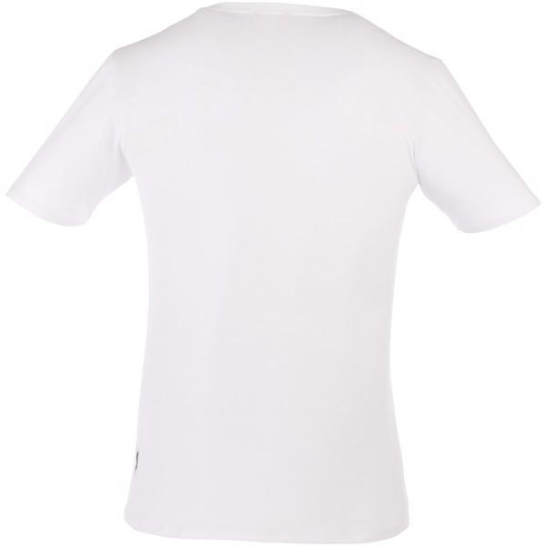 Bosey short sleeve men's v-neck t-shirt - White / XS