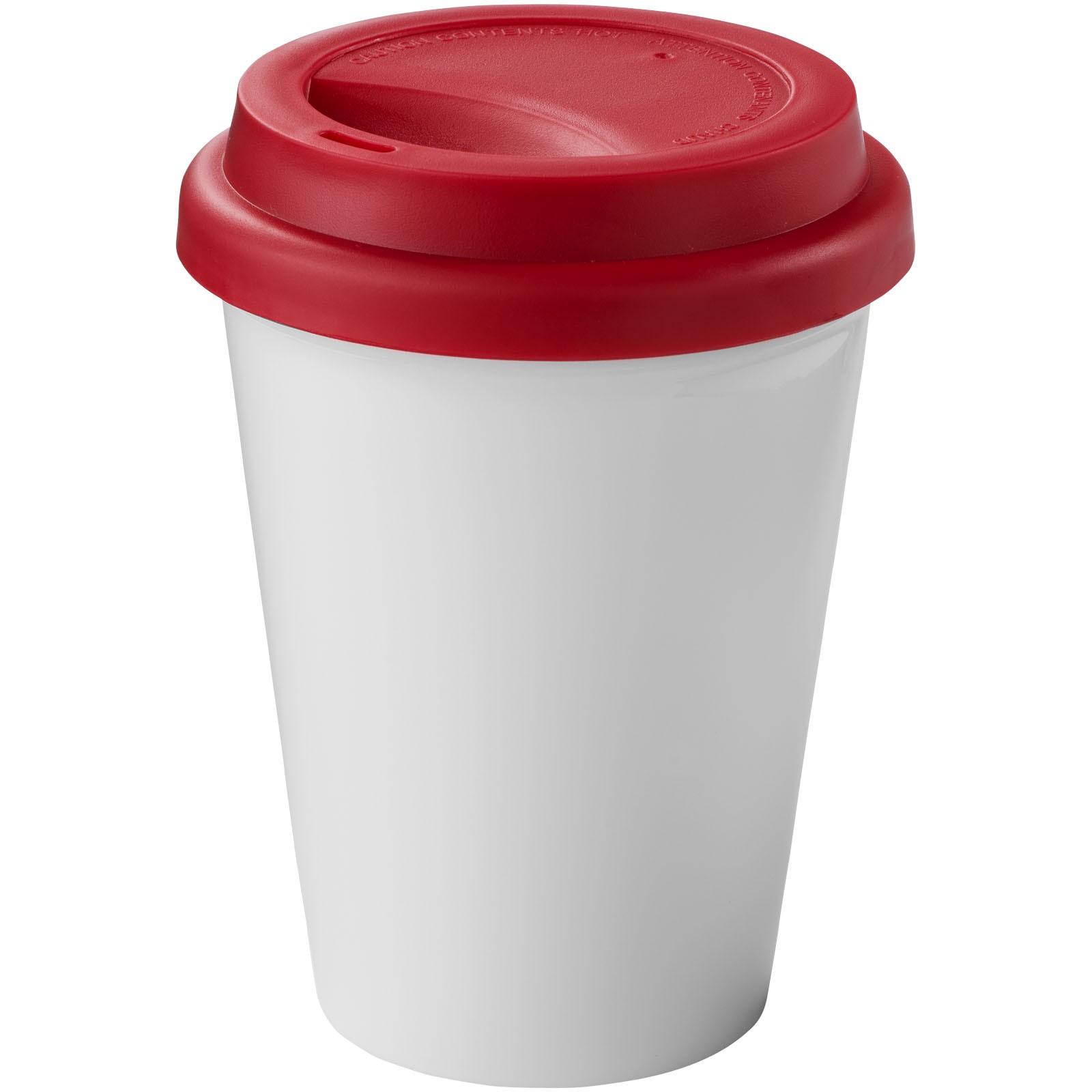 Zamzam 330 ml insulated tumbler - White / Red