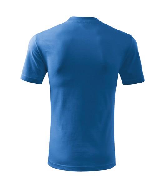 Tričko dětské Malfini Basic - Azurově Modrá / 134 cm/8 let