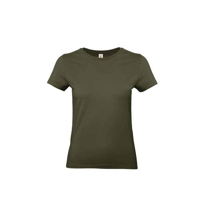 T-shirt female 185 g/m² #E190 /Women T-Shirt - Khaki / XL