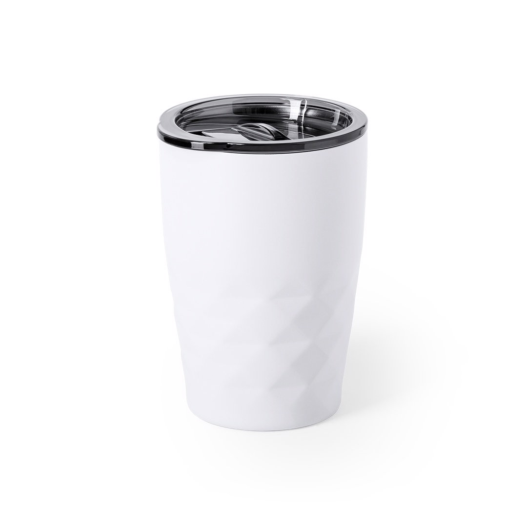 Vaso Térmico Blur - Blanco