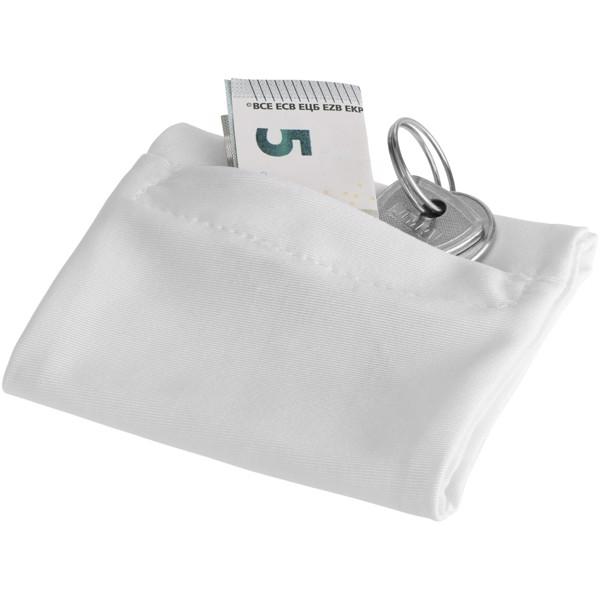 Squat Armband mit Reißverschlusstasche - Weiss