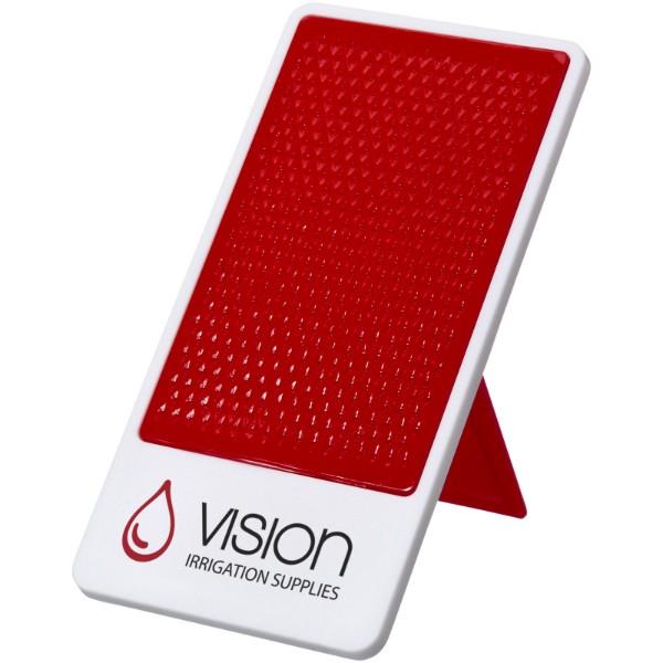 """Soporte para smartphone """"Flip"""" - Rojo / Blanco"""