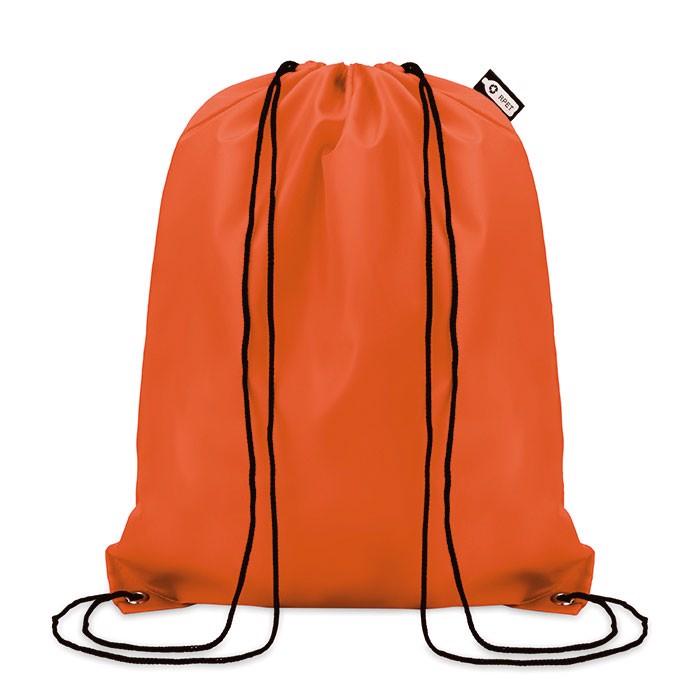 Bolsa de cuerdas RPET 190T Shooppet - naranja
