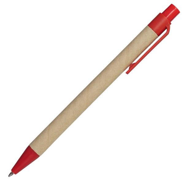 Długopis Mixy - Czerwony / Brązowy