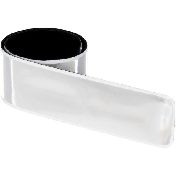 Reflective slap wrap small - White