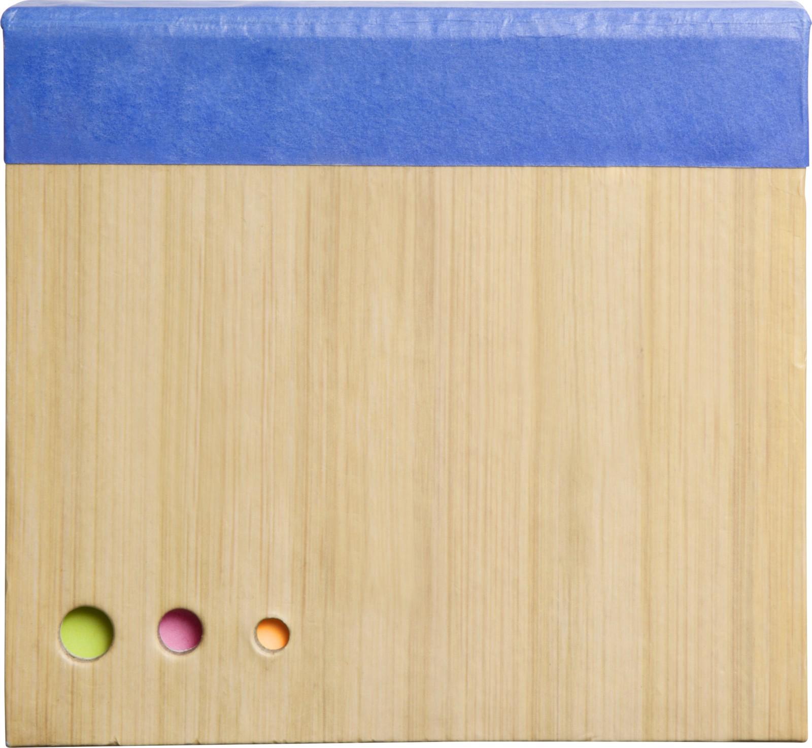 Paper memo block - Cobalt Blue