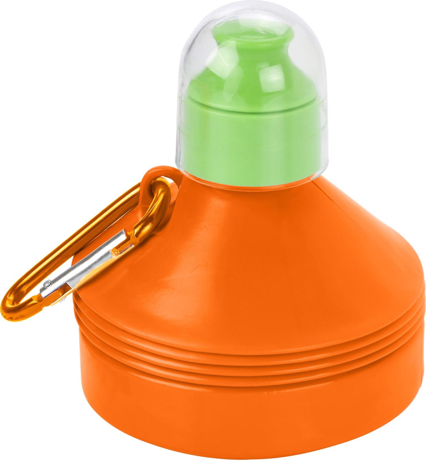 PE and PS bottle - Orange