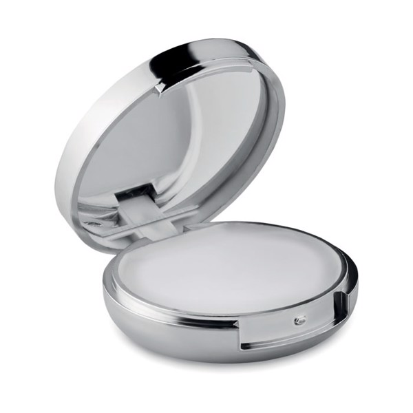 Mirror lip balm Duo Mirror - Shiny Silver