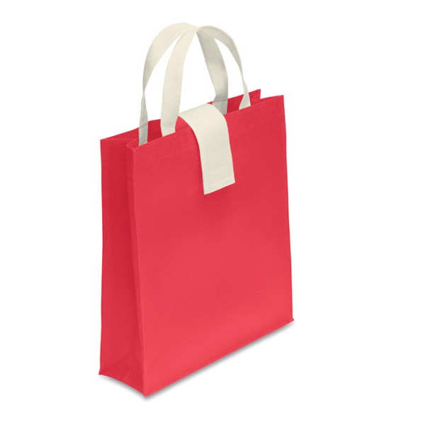 Nonwoven shopping bag Folby - Red