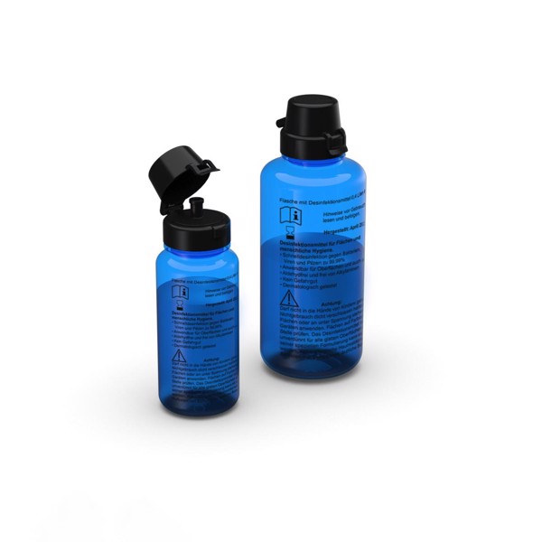 Bottle With Disinfectant 0.4L