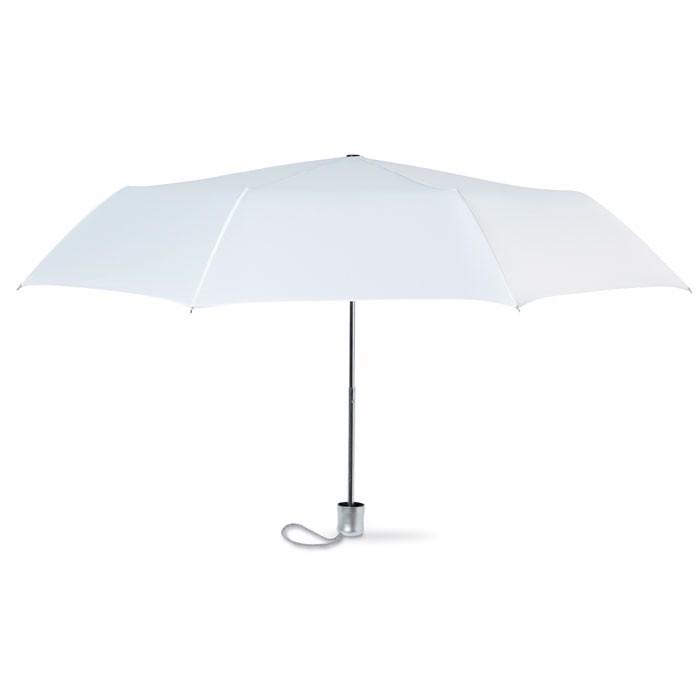 21 inch foldable umbrella Lady Mini - White