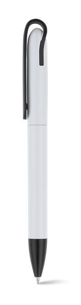 GAIA. Kuličkové pero z ABS - Černá