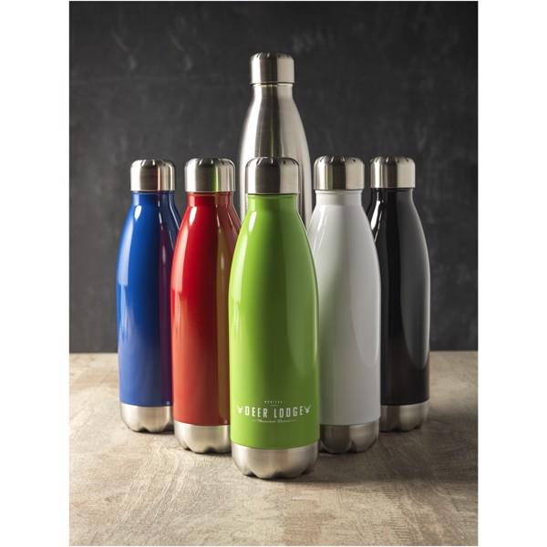 Arsenal 510 ml vacuum insulated bottle - White
