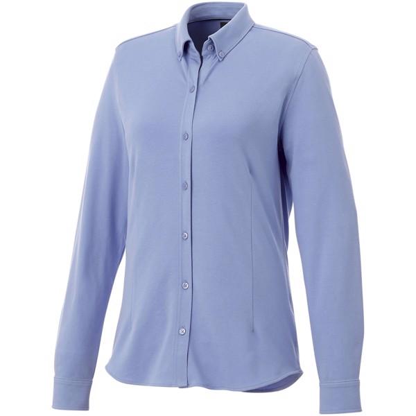 Dámská košile Bigelow s dlouhým rukávem - Světle modrá / L