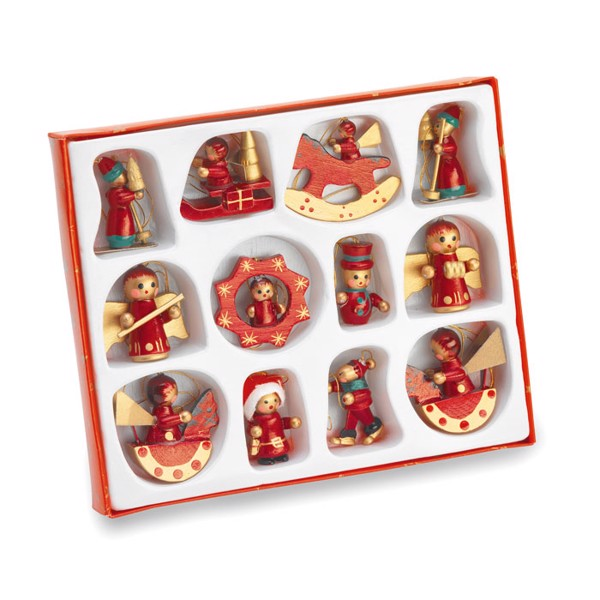 12 pieces Christmas decoration Laponia