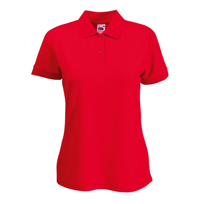 Dámská polokošile 65/35 Polo Lady-Fit  63-212-0 - Red / XS