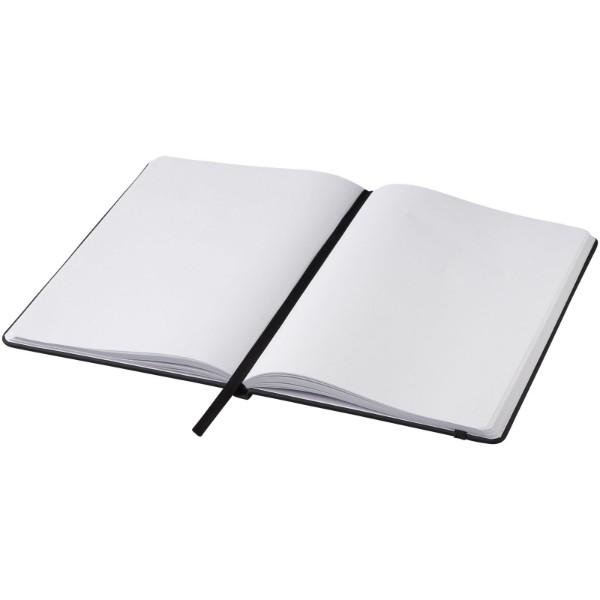 Zápisník A5 Spectrum – nelinkované stránky - Černá
