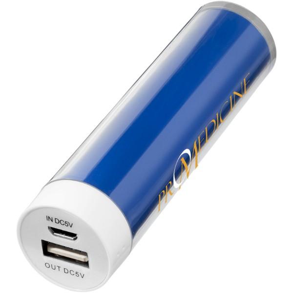"""Batería externa 2200mAh """"Dash"""" - Azul Real"""