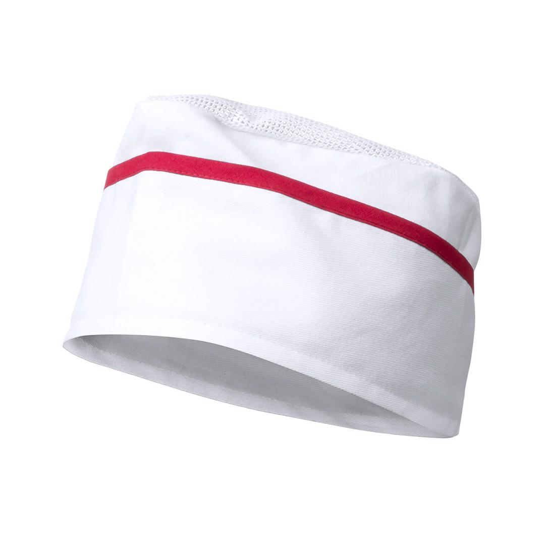 Gorro Painer - Blanco / Rojo