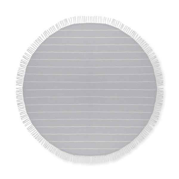 Bavlněný ručník Round Malibu - grey
