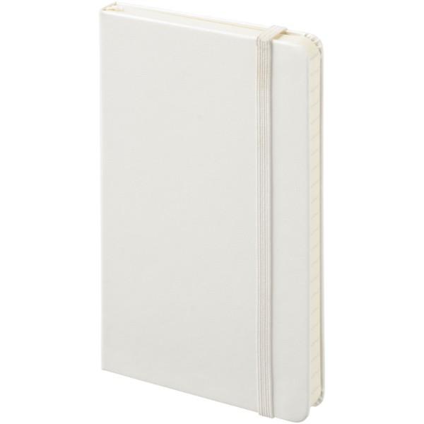 Classic Hardcover Notizbuch Taschenformat – liniert - Weiss