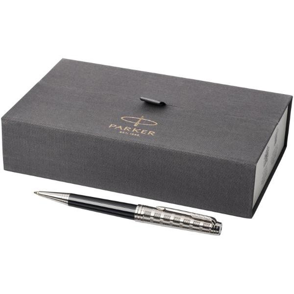 Kuličkové pero Premier - Černá / Stříbrný