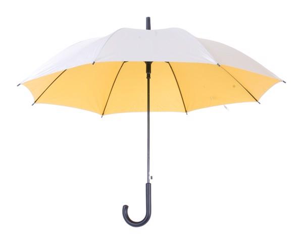 Deštník Automat Cardin - Žlutá / Stříbrná