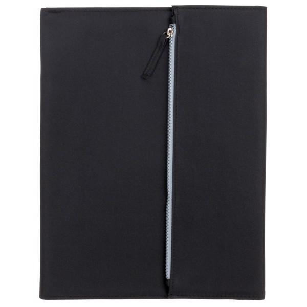 Portfolio Zipper Formátu A4 / Černá / Šedá