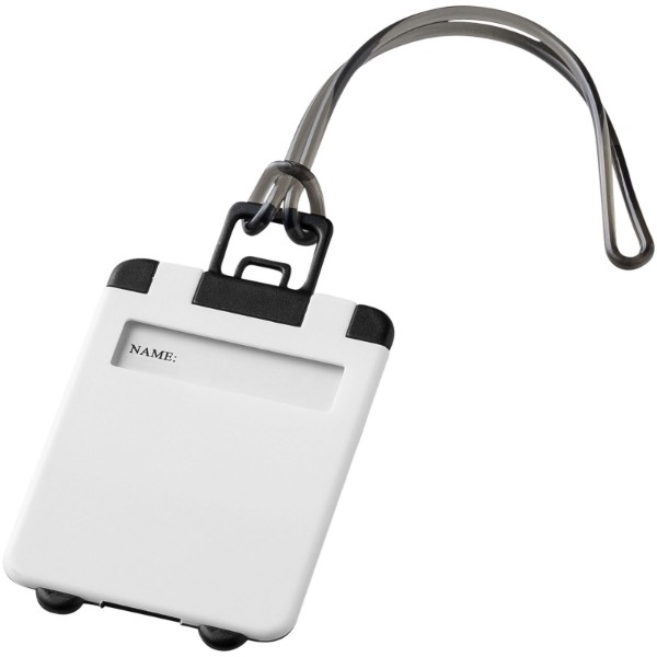 Taggy luggage tag - White