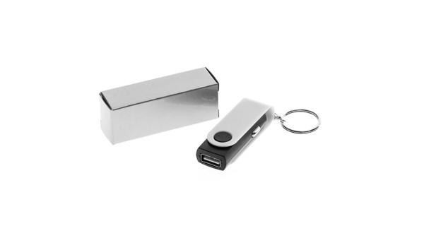 Cargador Coche USB Hanek - Blanco