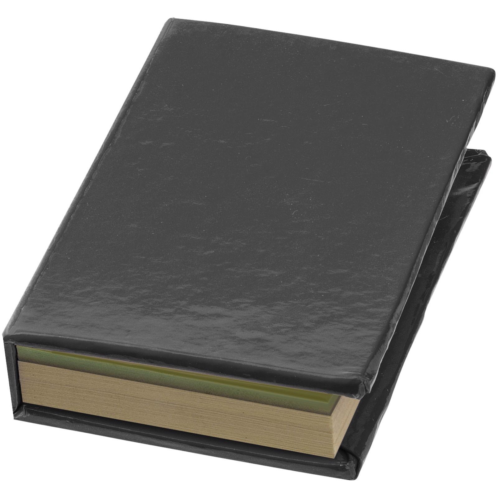 Notes z karteczkami samoprzylepnymi Storm - Czarny