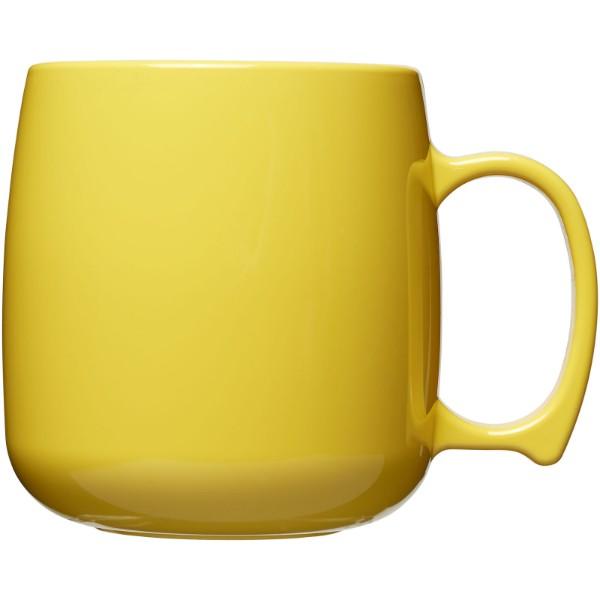 Classic 300 ml plastic mug - Yellow
