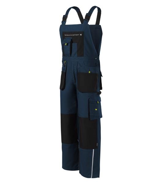 Pracovní kalhoty s laclem pánské Rimeck Ranger - Námořní Modrá / XL