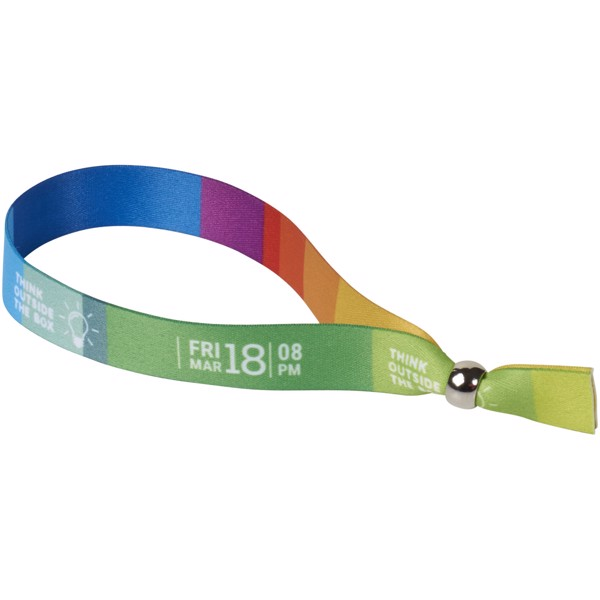 Evi sublimation festival bracelet metal