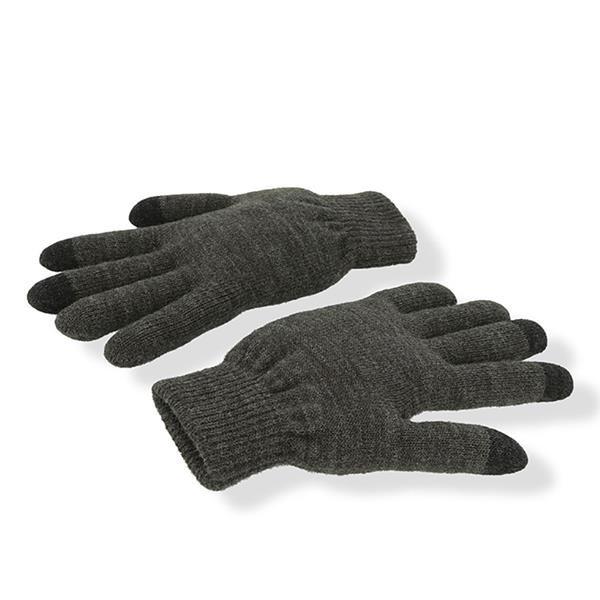 Gloves Touch - Cinza Mesclado Escuro