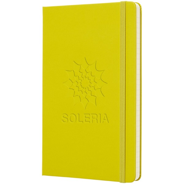 Classic L hard cover notebook - ruled - Dandelion Yellow