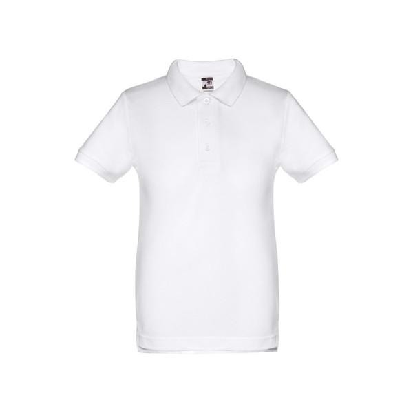 ADAM KIDS. Παιδική μπλούζα πόλο - Λευκό / 8