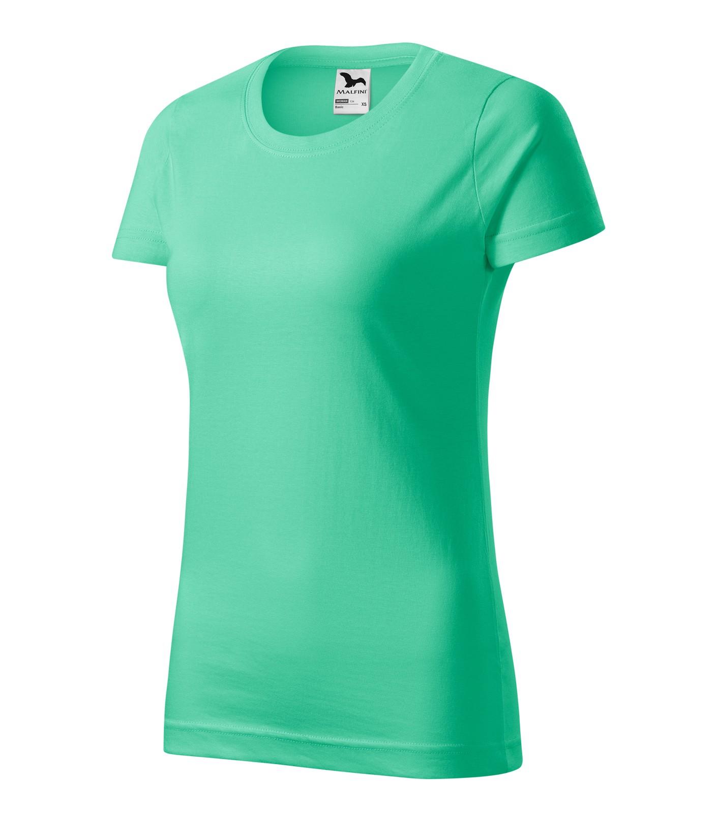 T-shirt women's Malfini Basic - Mint / S