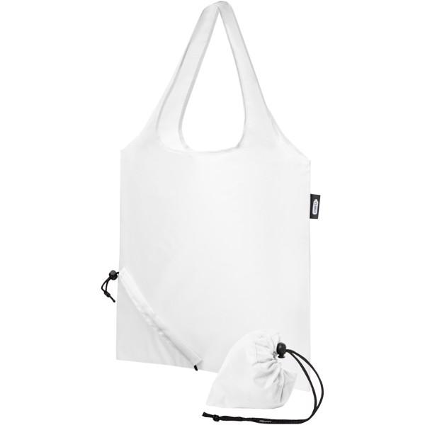 Sabia RPET foldable tote bag - White