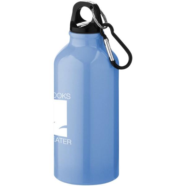 Nápojová láhev s karabinou Oregon - Světle modrá